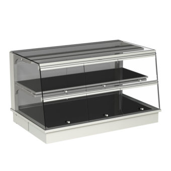 Built-in heated display cases - Closed or with removal flaps - W GS-80-53 KL*)