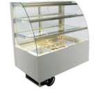 Built-in refrigerated display cases with flaps - Gastro - Gastro GR-80-70-E KL PRO*)