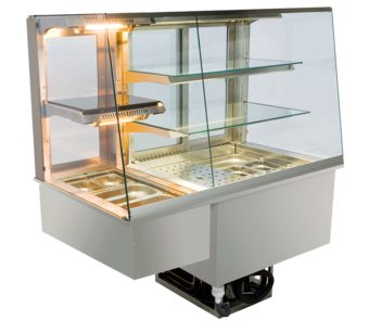 Built-in combination display cases - KGW - KGW GS-160-70-E