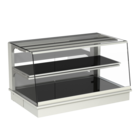 Built-in heated display cases - Closed or with removal flaps - W GS-112-53 PRO