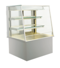 Open built-in refrigerated display cases - Gastro M1 - Green OS-80-70-Z