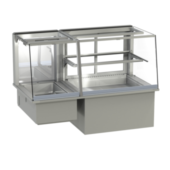 Built-in combination display cases - KGW - KGW GS-127-53-Z