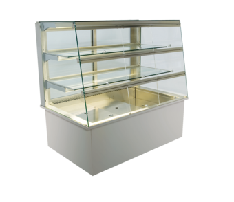 Built-in refrigerated display cases with flaps - Gastro - Gastro GS-177-70-Z KL