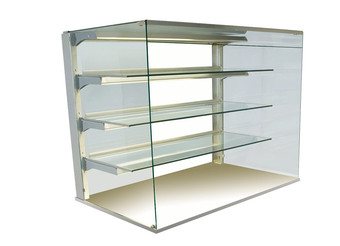 Kristall glass enclosure - open - GUK OE-80-87