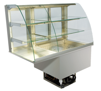 Built-in combination display cases - KGU - KGU GR-152-70-E
