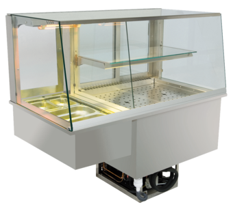 Built-in combination display cases - KGW - KGW GS-160-53-E