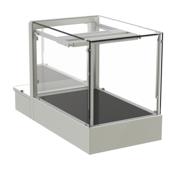 Countertop heated display case - Countertop heated display case, height 530 - W AE-41-53