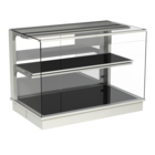 Built-in heated display cases - Closed or with removal flaps - W KOE-145-70 PRO