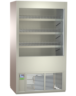 Multideck beverage cabinets - with straight or inclined CNS intermediate shelves - FKRE 80-RG