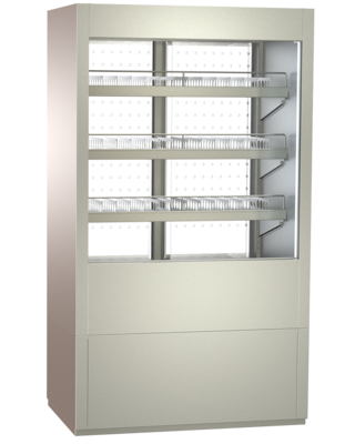 Multideck beverage cabinets - with straight or inclined CNS intermediate shelves - FKRZ 80