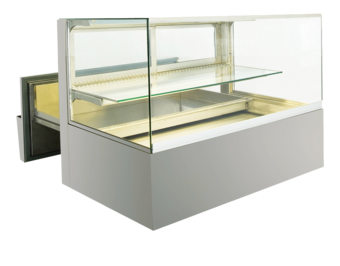 Built-in refrigerated display cases with cake drawer - BAK L - BAK L GE-92-51-Z