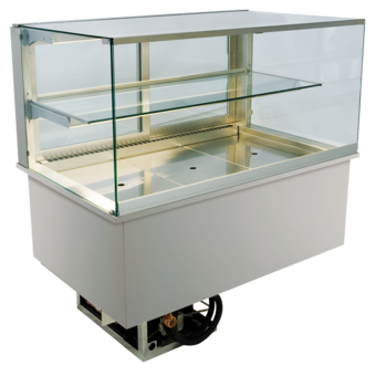 Built-in refrigerated display cases - Gastronorm - Gastro GE-80-53-E*)