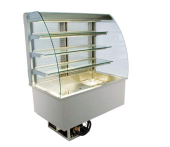 Open built-in refrigerated display cases - Gastro M2 - Gastro OR-80-87-E