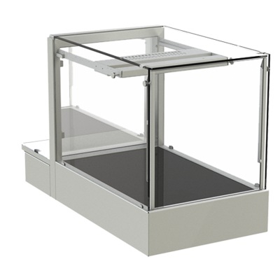 IDEAL AKE - Countertop heated display case