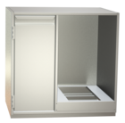 Non-refrigerated cabinets - Built-in cabinets for glass washer - GS 65-H L