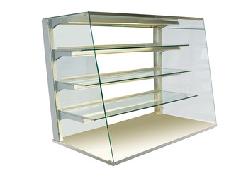 Kristall glass enclosure - open - GUK OS-80-87