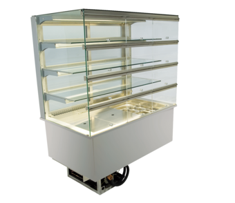 Built-in refrigerated display cases with flaps - Gastro - Gastro GE-80-87-E KL*)