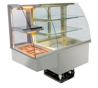 Built-in combination display cases - KGW - KGW GR-127-70-E