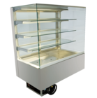Built-in refrigerated display cases - Gastronorm - Gastro GE-80-87-E PRO*)