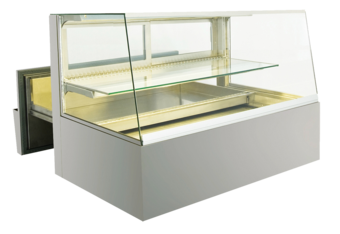 Built-in refrigerated display cases with cake drawer - BAK L - BAK L GS-132-51-Z