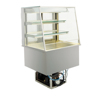 Open built-in refrigerated display cases - Gastro M1 - Green OS-80-70-E