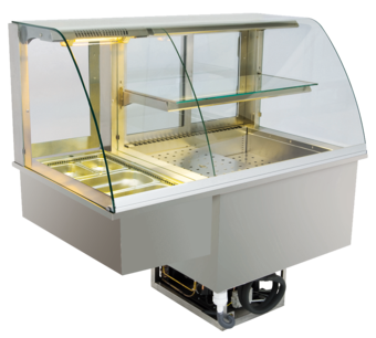 Built-in combination display cases - KGW - KGW GR-127-53-E