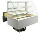 Built-in refrigerated display cases with cake drawer - BAK L - BAK L GR-132-68-E