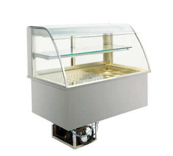 Open built-in refrigerated display cases - Gastro M1 - Green OR-112-53-E