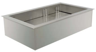 Built-in refrigerated wells (static cooling) - Gastronorm - EBS 6-1-Z