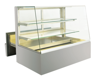 Built-in refrigerated display cases with cake drawer - BAK L - BAK L GS-132-68-Z