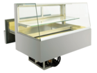 Built-in refrigerated display cases with cake drawer - BAK L - BAK L GS-92-51-E