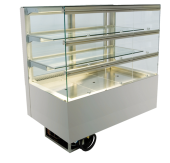 Built-in refrigerated display cases with flaps - Gastro - Gastro GE-80-70-E KL PRO*)