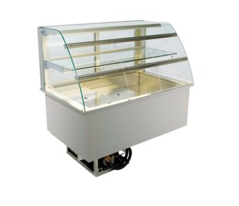 Built-in refrigerated display cases with flaps - Gastro - Gastro GR-112-53-E KL