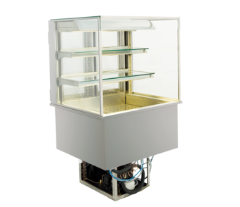 Open built-in refrigerated display cases - Gastro M1 - Green OE-80-70-E