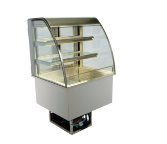 Open built-in refrigerated display cases - Gastro M1 - Green OR-80-70-E