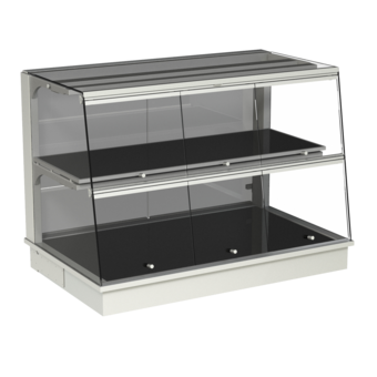 Built-in heated display cases - Closed or with removal flaps - W GS-145-70 KL