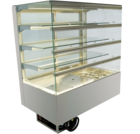 Built-in refrigerated display cases with flaps - Gastro - Gastro GE-80-87-E KL PRO*)