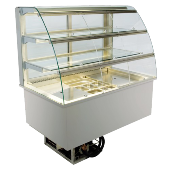 Built-in refrigerated display cases with flaps - Gastro - Gastro GR-112-70-E KL