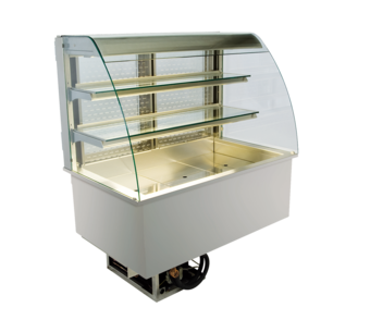 Open built-in refrigerated display cases - Gastro M2 - Gastro OR-80-70-E