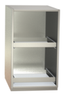 Non-refrigerated cabinets - Glass rack cabinets - GKS 50-2