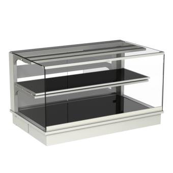 Built-in heated display cases - Closed or with removal flaps - W GE-112-53