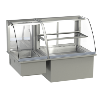 Built-in combination display cases - KGW - KGW GR-160-53-Z