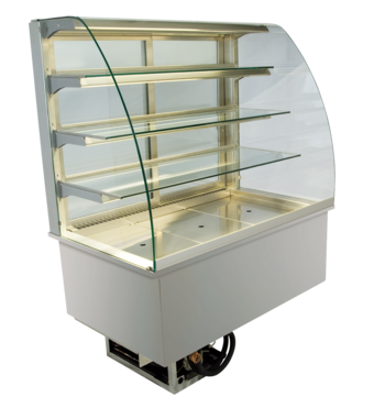 Built-in refrigerated display cases - Gastronorm - Gastro GR-80-87-E