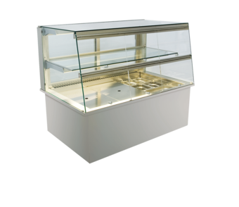 Built-in refrigerated display cases with flaps - Gastro - Gastro GS-177-53-Z KL