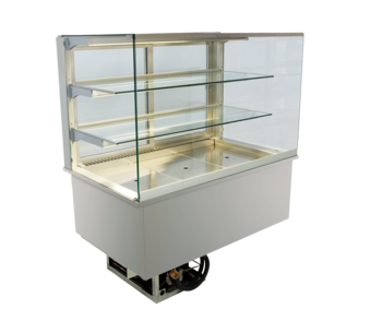 Built-in refrigerated display cases - Gastronorm - Gastro GE-80-70-E*)