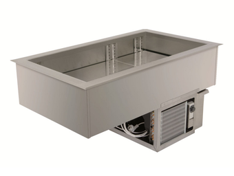 Built-in refrigerated wells (static cooling) - Gastronorm - EBS 6-1-E R290