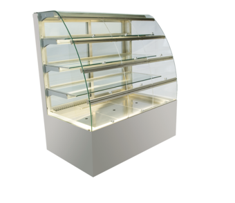 Built-in refrigerated display cases with flaps - Gastro - Gastro GR-80-87-Z KL PRO*)
