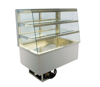 Built-in refrigerated display cases with flaps - Gastro - Gastro GS-177-70-E KL