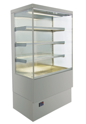 Brillant multideck cabinets - with straight or inclined CNS intermediate shelves - BRILLANT KR 80-Z