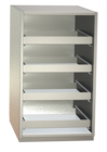 Non-refrigerated cabinets - Glass rack cabinets - GKS 60-4